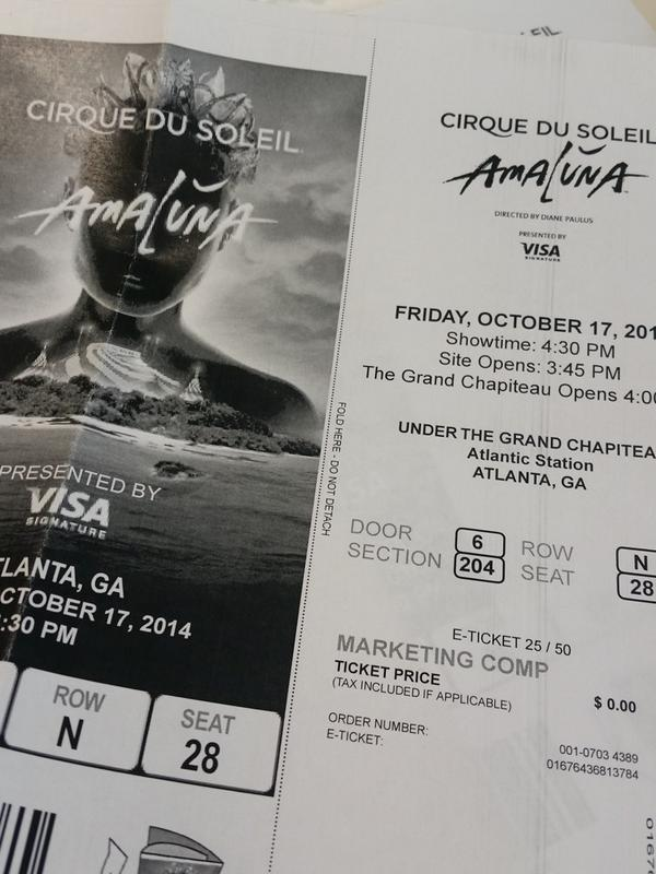 Who's ready for @Cirque? We're giving away 2 tickets for 10/8 & a $20 dining card. RT to win! http://t.co/CAf8RIQUrn