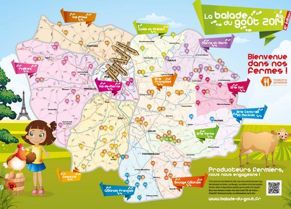 Balade du goût en @iledefrance : 87 fermes à visiter le we du 18/19 octobre http://t.co/yEdH55Mvz3 http://t.co/y4sVC6UGLB