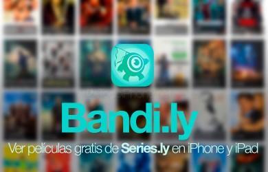 RT @Todo_iPhone: Series.ly, disfruta sus películas y series gratis con Bandi.ly para iPhone y iPad... http://t.co/AsjDyDInYy