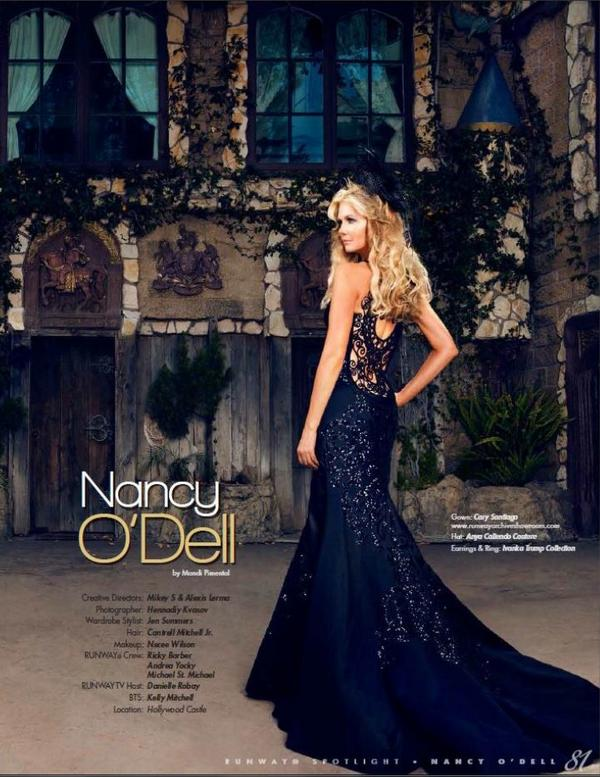 Loved all the dramatic gowns 4 the @Runway cover shoot on stands now. This dress is #CarySantiago #RunwayTV @Muheeka http://t.co/R5XiXpJLP3