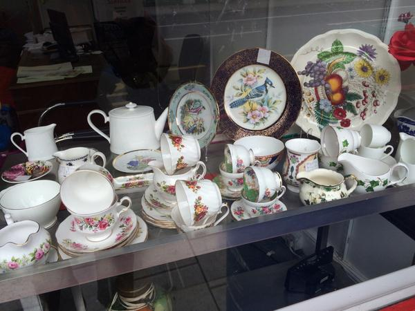The legal advice, barrel shop and Internet cafe in Camberwell now sells decorative crockery. http://t.co/J5cBs8pyBB