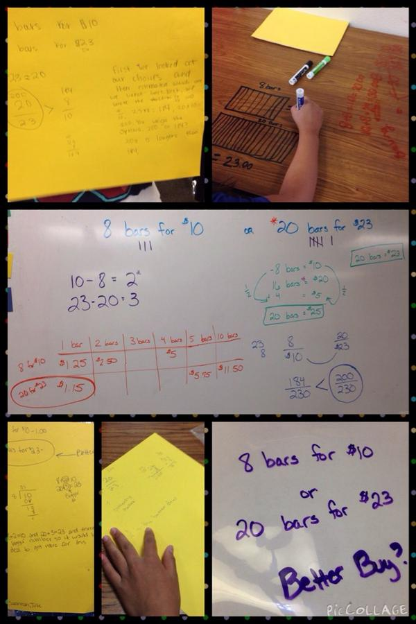 Better Buy Problem & Investigation today in math #reaganrays #LISDElemMath http://t.co/c1hY1AdlU0