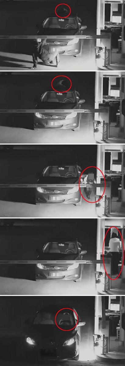 주차비 안 내려고 귀신 흉내 낸 여성 화제 http://t.co/u2neMTbWzP http://t.co/9jR7EpN2t7