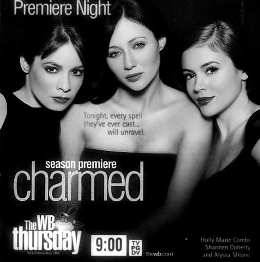 16 years ago, On October 7th,1998, #Charmed our hearts FOREVER. Cc @H_Combs @DohertyShannen @Alyssa_Milano ❤️ http://t.co/3nbY4AMh85