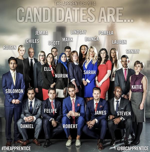 So excited for #TheApprentice  http://t.co/LwcVyMcBKA