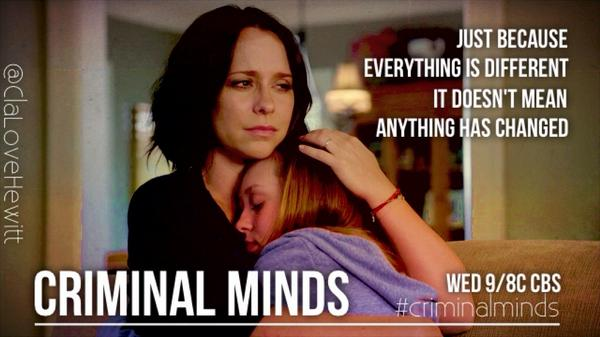 Don't miss @TheReal_Jlh Jennifer Love Hewitt as #KateCallahan on #CriminalMinds S10. All new ep Wed 9/8c on @CBS. http://t.co/HAQfzpuv8O