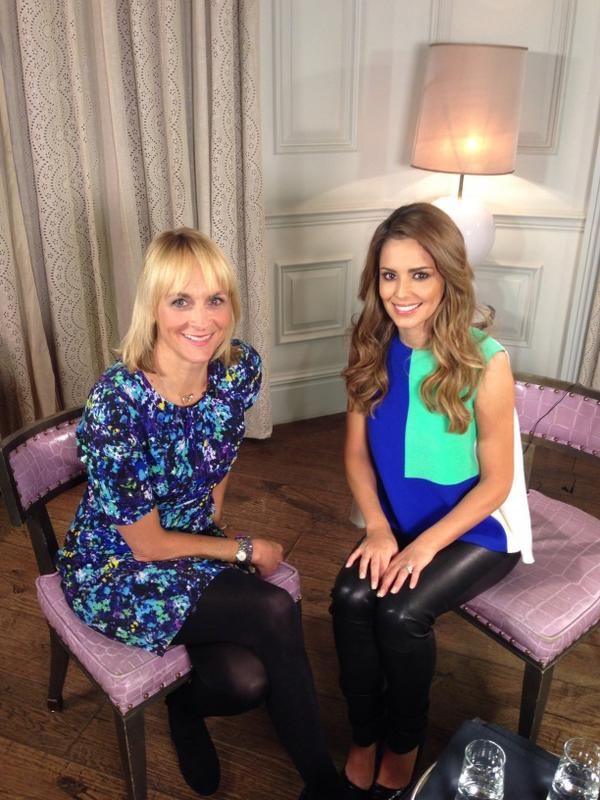 And finally here she, is the smiley @CherylOfficial. She has amazing sparkly eyes. http://t.co/oNs4v7lAfZ