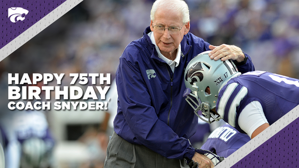 Happy 75th birthday to #KStateFB's Bill Snyder! RT to wish Coach Snyder a Happy Birthday! #KStateFamily http://t.co/wLZxri5ATl