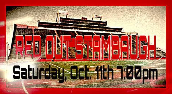 #REDOUTSTAMBAUGH this Saturday for @YoungstownStFB vs. Western Illinois! RT to help a Penguin out! http://t.co/Io7bJmVYw2