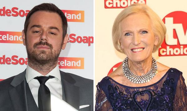 """Danny dyer apologies for licking Mary Berry's ear while 'off his head' at awards  http://t.co/M64TAAN1MB http://t.co/FHwIiGZSpe""""@VickyGShore"""