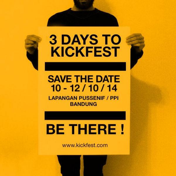 H - 3 to @kickfest ! #LoopKickFest http://t.co/WXU8640AE4