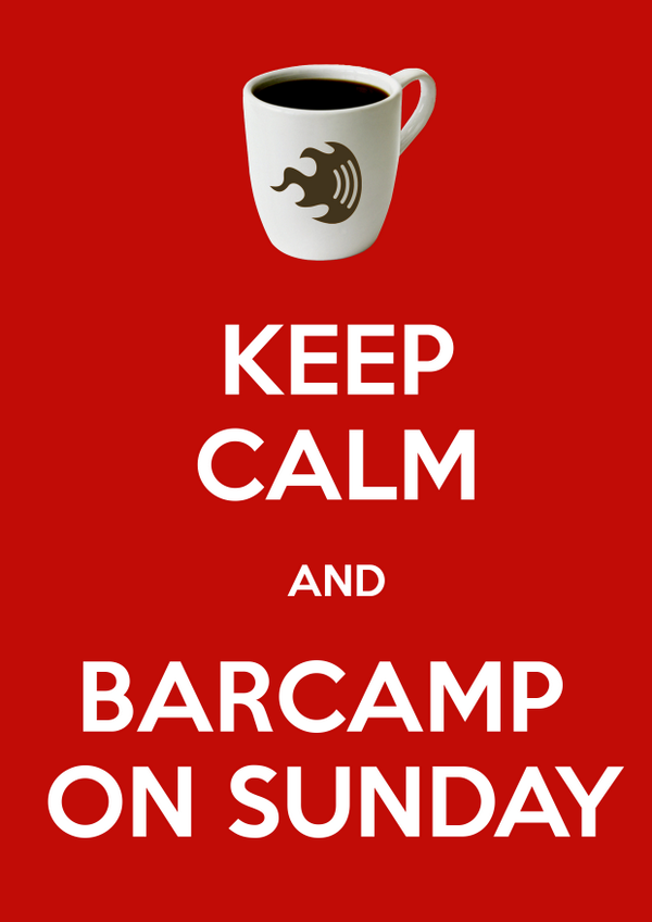 Keep Calm and @barcampbng this Sunday on 12th Oct http://t.co/zoexEKoo5l