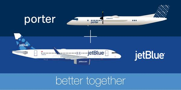 JetBlue & Porter are partnering to give you more! https://t.co/TQXYi0ZVLF http://t.co/YXfSKLqN3O