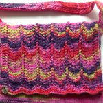 Little Girls Chevron Handbag handknitted with sock yarn http://t.co/l1A2MZ8N11 #pottiteam #accessories #fashion http://t.co/7OzZmLhX0e