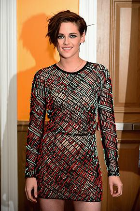 Actress Kristen Stewart wearing #JMENDEL S15 Collection to the US premiere of Camp X-Ray in New York City. http://t.co/ScNLtZboaV