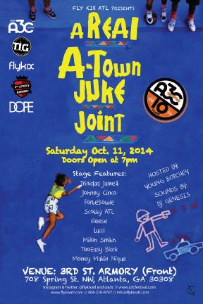 This Saturday!!! @A3C x @flykixatl x @DOPE :: A Real A-Town Juke Joint at @3rdStArmory 7pm http://t.co/3FoxfW5tig