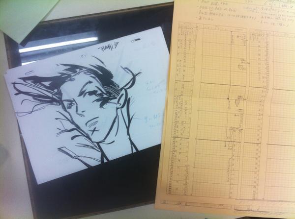 Space Dandy #26 , スペース☆ダンディ#26 (layout and time-sheet) レイアウト
