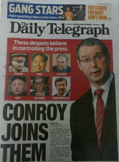 News Ltd silent on Abbott wanting to jail journalists for up to 10 years.  Last year it was different...#auspol http://t.co/4zgyQiJy13
