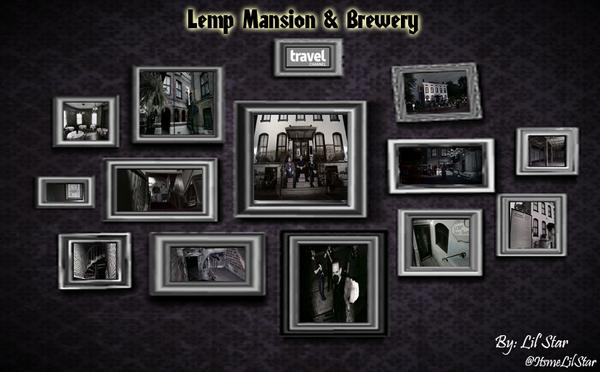 Hi #GACFamily here's my new collage for the 2nd episode from the season 10! Lemp Mansion & Brewery :) http://t.co/hq4ZSj95kk