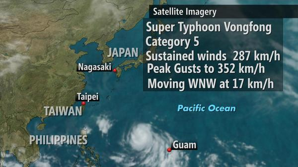 Nicole Karkic (@NicoleKarkic): Super Typhoon #Vongfong has become the most intense storm on Earth in 2014. http://t.co/oWCR8tCpYO