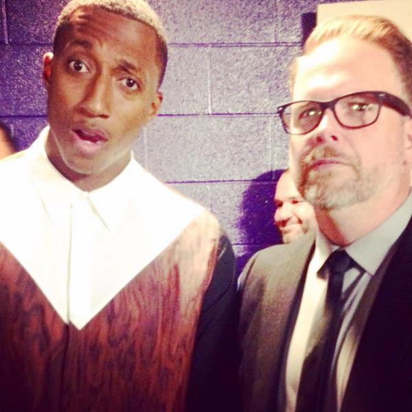 RT @GMADoveAwards: .@BartMillard and @lecrae having some fun with us backstage at the #DoveAwards We're so blessed to have these two! http://t.co/nGc2PoFCz1