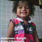 RT @PandeyJaideep: 18 months old Abhinav missing from Bishanpura,Sec-58 NOIDA Call Alok Singh 8130825878 @divyadutta25 #abhinavmissing http…