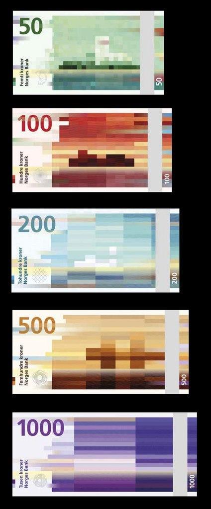 Новый дизайн норвежских банкнот. http://t.co/fLHVncVgWv