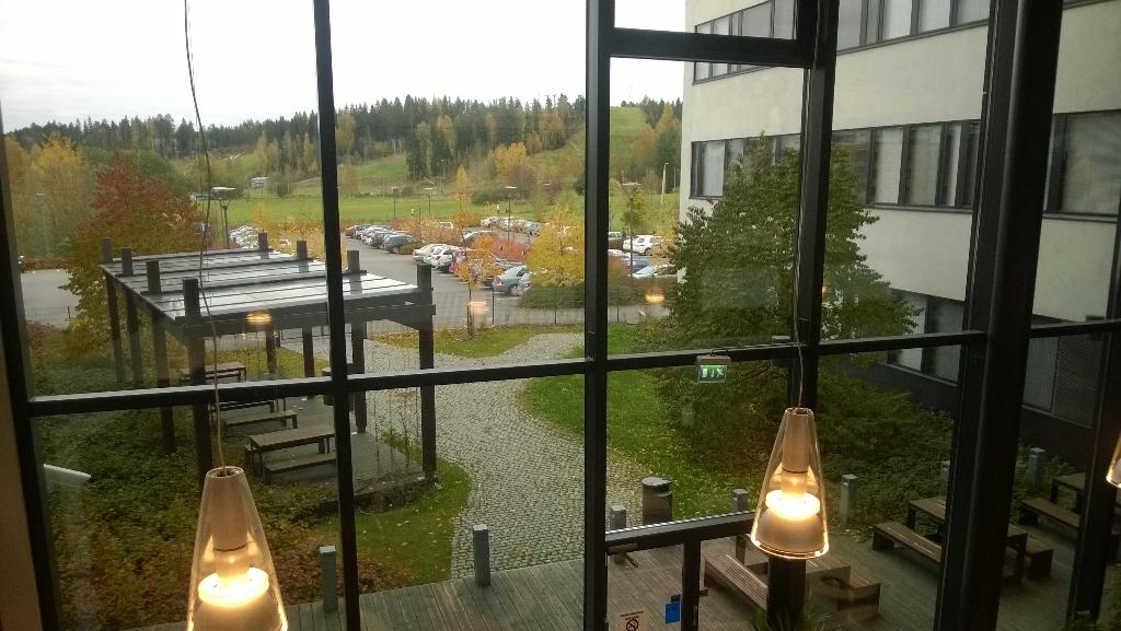Nature is close to @HAAGAHELIAamk #PorvooCampus#learning #environment http://t.co/YniZqeEXkW