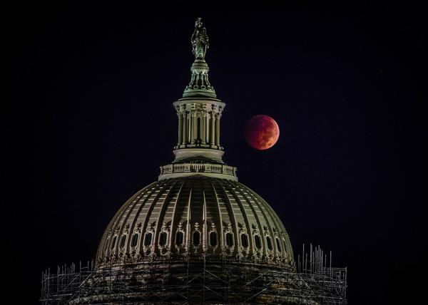 Photos: Lunar eclipse turns moon blood red over DC. Epic collection: http://t.co/daJd2xsHJN (Image: Caroline Angelo) http://t.co/tIy7xWwk4n