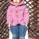 Hooded Sweater, Girls Cardigan, Alpaca Sweater http://t.co/6JyAkUhI76 #pottiteam #knitting #kidsfashion http://t.co/ejU9r9yGDs