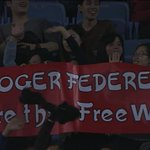 RT @rogerfederer: I remember seeing this last night and thinking: #random.. I can't say I've ever been told that before
