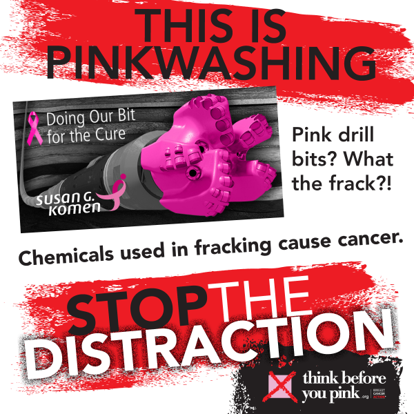 Pink drill bits for the cure? WHAT THE FRACK?! #pinkwashing #ThinkBeforeYouPink http://t.co/7O4EVCOWWD