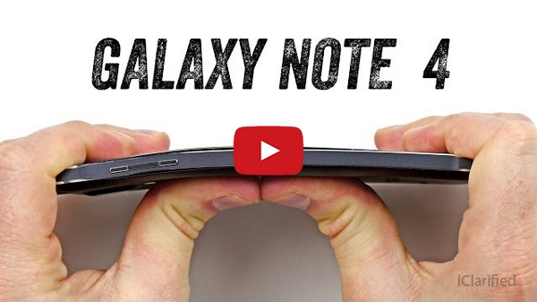 The Samsung Galaxy Note 4 Also Bends [Video]... http://t.co/tpsqp9IjGz http://t.co/LAY8Xwxzcp