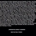 Tienen rostro,familia,compañeros,nombre y apellido y debe ud. @EPN presentarlos con vida ya! http://t.co/j6hTnMZeLL #EPNBringThemBack