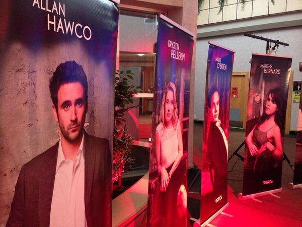 "Big news in NL film/TV - @allanhawco signs deal to develop Lisa Moore novel ""Caught"" as a TV series. #cbcnl http://t.co/BaccLPWCuw"