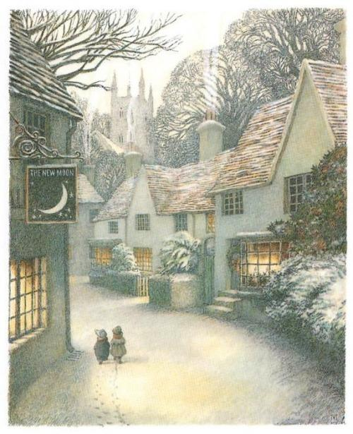 Lovely Illustration by Inga Moore for The Wind in the Willows by Kenneth Grahame (1908)  #art #books http://t.co/RNXInQtKhc
