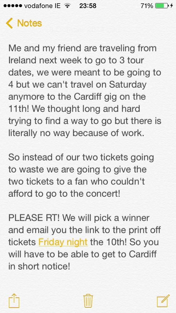 @TheVampsband PLEASE READ AND RETWEET..ITS IMPORTANT FOR A LUCKY FAN http://t.co/WGaNAj7tci