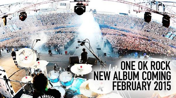 ONE OK ROCKニューアルバムが来年2月に発売決定!! http://t.co/qtrp7FsZO5 http://t.co/FkjiczUQD4