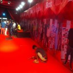 The red carpet gets ready !! @startv @boxofficeindia #starplusboxofficeindiaawards #balaji @StarAnilJha