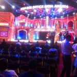 The stage is set for the Star Box Office India Awards tonight !! @boxofficeindia @startv #balaji
