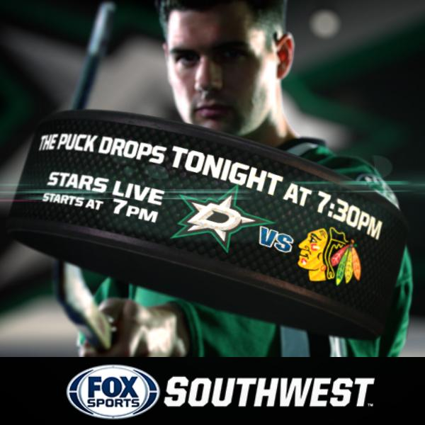 HOCKEY IS BACK.  Puck drops for the 2014 @DallasStars season tonight on FOX Sports Southwest. http://t.co/Jq0SOY9ENn