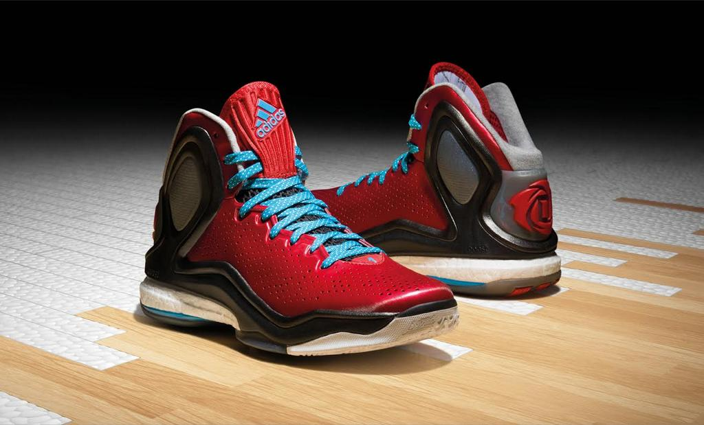The Derrick Rose D Rose 5 Boost from @adidasHoops http://t.co/7ZJJyNzrRX