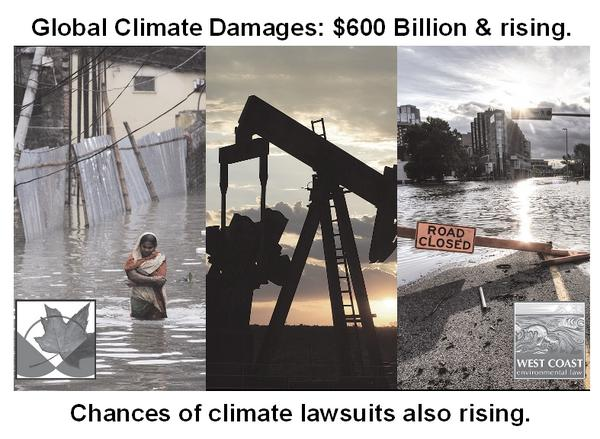 Damages from climate change and the chances of #climate lawsuits are both rising. http://t.co/HdYiFwkAi9 http://t.co/3dlw2aJcgf