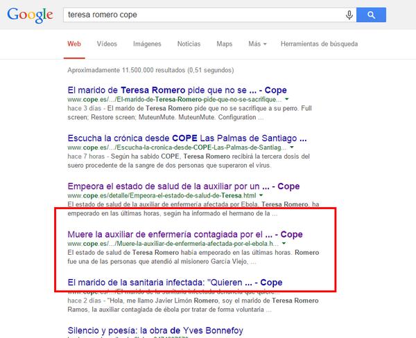 Que no, que no, que por mucho que La Cope diga que no lo ha publicado, aún sale en Google @cope_es tengan vergüenza! http://t.co/DfKfX97ud2