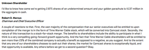 Time Warner Cable shareholders OK Comcast deal | Veooz 360