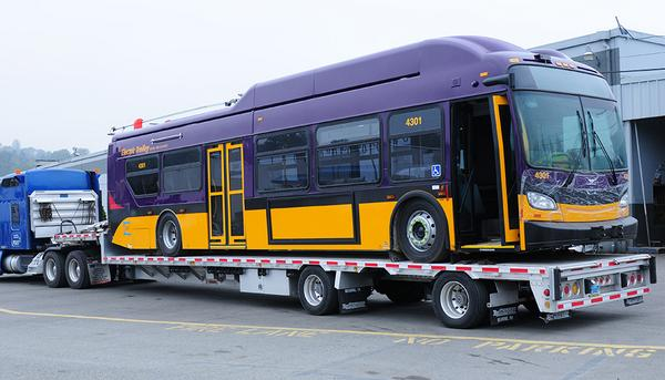 Just rolled in-1st Metro prototype trolley! Rd testing then look for new trolleys next summer.http://t.co/6e2VOzpQB0 http://t.co/cfIsDw7s0t