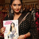 Kannada superstar @raginidwivedi24 with October 2014 issue of @southscope http://t.co/YMOzM0lm4n