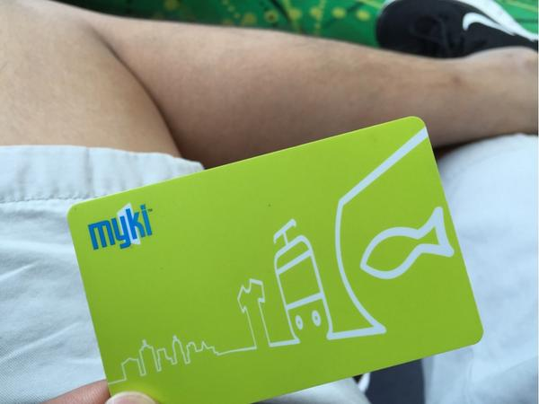 Melbourne's myki system is horrendous in comparison to Sydney's Opal. Keep away! http://t.co/raFWfiXXfS