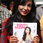 Multilingual actress #Parvathy Nair @southscope October 2014 issue launch http://t.co/jyEkHH9yMi