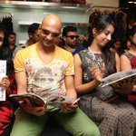 #Parvathy Nair @lankeshindrajit @actressanjjanaa @ShwethaSrivatsa @southscope October 2014 issue launch http://t.co/H0LRxRnqmp